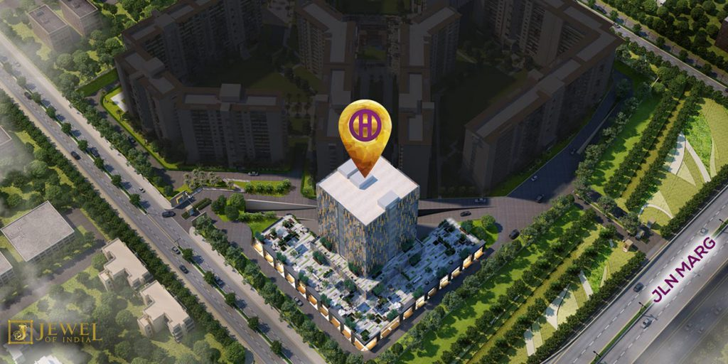 Horizon Tower at Jewel of India by Suncity Group in Jaipur